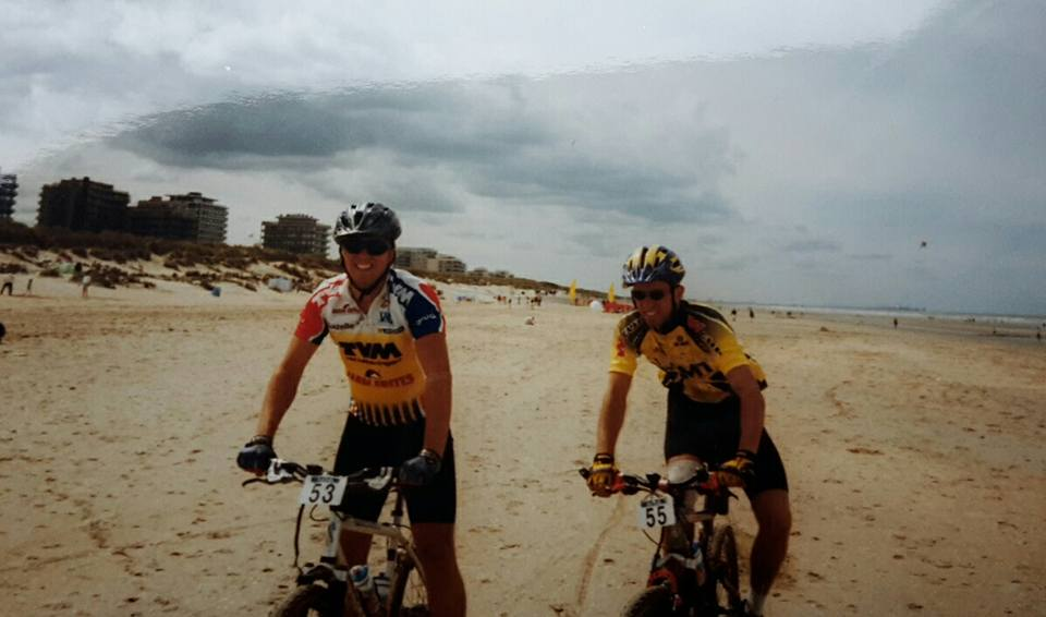 LCMT 1999 Merijn Kastelijn and Patrick Peeters @De Panne Beach (the last day)